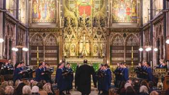 CHOIR RECITAL AND EVENSONG AT KEBLE COLLEGE
